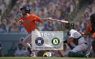 Bregman 2 for 4 w/ Home Run in Astros' ALDS Game 1 Win (10-5) Over Athletics